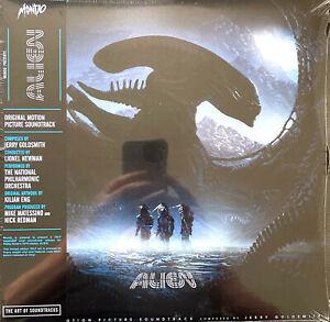 Jerry Goldsmith 2xLP Alien (Original Motion Picture Soundtrack) - US