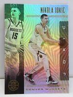 Nikola Jokic 2019-20 Panini Illusions Holo Refractor Card #60 Denver Nuggets ??