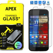 Premium Real New 9H Tempered Glass Film Screen Protector for Motorola Moto X 1st