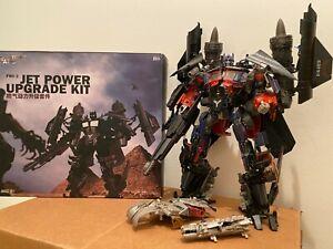 Transformers Jetpower Optimus Prime DA28 Striker w/ FWI-3 Upgrade Kit Plz Read