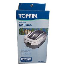 Top Fin Air-3000 Air Pump For 40 Gallon Aquariums