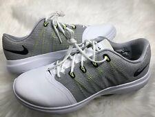 Nike 819040-100 New Women s Lunar Empress 2 Golf Shoes Sz 8.5 Cool Grey  White bd6bbb06a