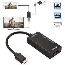MHL zu auf HDMI Adapter Kabel Konverter für Micro USB Smart Handy 1080P AC1387