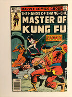 Marvel Comics The Hands Of Shang Chi Master Of Kung Fu #87