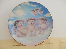 "Dreamsicles Plate Collection ""The Flying Lesson"" Plate Number 2923S"