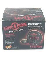 Sonic Alert Sbb500ss Sonic Bomb Alarm Clock New
