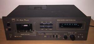 "super RARE NAD 6100 JAPAN Cassette Deck metal faceplate ""New-Acoustic-Dimension"""