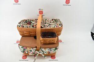 Lot of 3 Longaberger Decorative Baskets (1937)