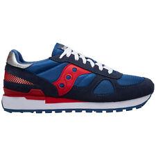 Saucony sneakers men shadow original 2108748 logo detail suede shoes trainers