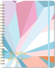 """2021 Planner Monthly Weekly Format 9"""" x 11"""" Spiral Tabs Orginizer Day Designer"""