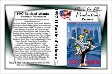 1997 Battle of Atlanta Karate Tournament Nov DVD 2 hours long