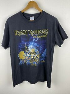 2008 Iron Maiden Somewhere Back In Time Live After Death Mens T Shirt Size M