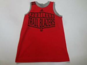 Youth Portland Trail Blazers S (8) Sleeveless Jersey Shirt Tank Top Adidas Jerse