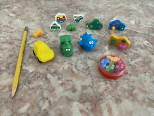 Lot Of Novelty Erasers- Automobiles , Collectible