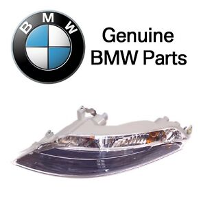 For BMW E63 E64 Front Driver Left Turn Signal Assembly with White Lens Genuine