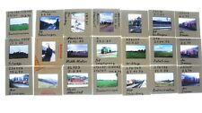 21 Dias von Lokomotiven Dampfloks Dieselloks mit Ort und Zeit M-1829