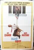 Buddy buddy movie poster,Jack Lemmon,27 x 41 inch,1981, Jack Lemmon