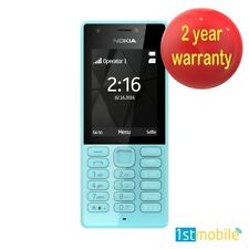 Genuine Nokia 216 téléphone mobile, Avant/Arrière de Caméras, Bluetooth, débloqué