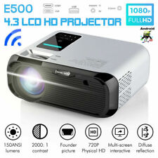 HOT 7000 Lumens Full HD 1080P Mini LED Projector Home Theater Cinema USB HDMI AV