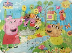 Peppa Pig Family 40-Piece Drawing Jigsaw Puzzle Best Gift for Kids -04