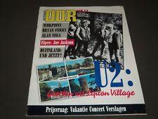 1982 JUNE 30 MUZIEKKRANT OOR MAGAZINE - U2 COVER - DUTCH - J 2185