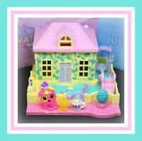 ❤️Polly Pocket Vintage 1994 Pollyville Nursery School House Bluebird Toys❤️