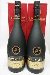2 x Cognac Remy Martin VSOP - older bottles, je 700ml