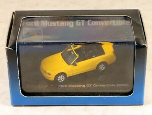 Ricko #3838474 2005 Ford Mustang GT Convertible Vehicle HO Scale 1/87