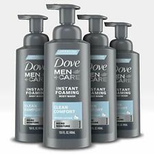 Dove Men+Care Foaming Body Wash to Hydrate Skin Clean Comfort Effectively Washes