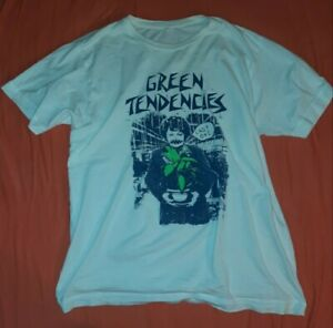 "Suicidal Tendencies Designer Green Tendencies Öko T-Shirt ""Last one"" USA HC XL"