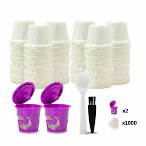 i Cafilas K CUP Paper Filters, Reusable K Cup Coffee Filter for Keurig Machines