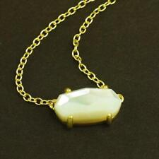 NWOT Kendra Scott Ever Ivory Pearl Necklace Gold Tone