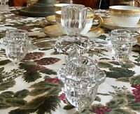 Cambridge Glass Three Arms Epergne Candle Holder