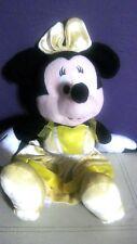 disney minnie mouse soft cuddly toy yellow dress