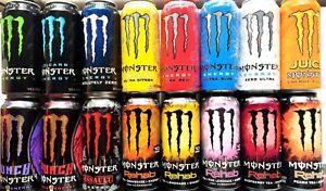 Monster Energy Drink - 16fl.oz. (Pack of 8) Choose your flavor!