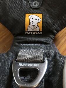 Ruffwear GRAY Padded Front Range Front Clip Dog Harness size SMALL Ruff Wear
