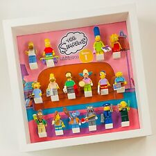Display Frame for Lego The Simpsons Series 1 minifigures 71005 figures 27cm