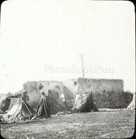 MAROC Tanger Maghreb 1904, Photo Stereo Grande Plaque Verre VR9L5n10