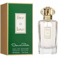 Live in Love Oscar de la Renta 3.3 / 3.4 oz EDP Perfume Women NEW in Box