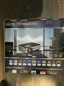 EUG Digital Led Projector Home Theater - NEW