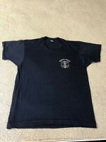 Vintage 80s TPD Trenton Police Department T-Shirt Size Large Thin Single Stitch