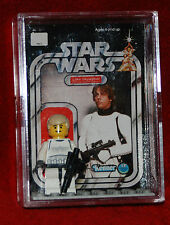 LEGO LUKE SKYWALKER STORMTROOPER CUSTOM CARD BACK CASE minifigure STAR WARS #2