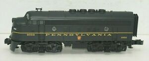 MTH ELECTRIC TRAINS O-GAUGE 9550 F-3 A NON-POWERED DIESEL LOCOMOTIVE