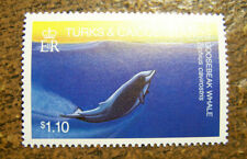 Turks and Caicos Islands 1983 MNH #568 $1.10 Gooseback Whale - Free Shipping