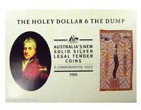 1988 HOLEY DOLLAR & DUMP Silver Proof Coin