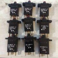 ETA 45-000-P-H Circuit Breaker 6 Amp 250vAC Bakelite