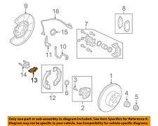 NISSAN OEM Brake-Rear-Adjust Lever 440508J01A