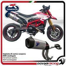 Termignoni Komplett Auspuff top racing tita Ducati Hypermotard 939 17>