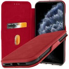 Schutz Hülle Klapp Tasche Handyhülle Flip Cover Book Case Wallet Handy Etui Slim