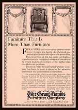 AD LOT OF 2 1910 - 1911 ADS  GRAND RAPID FURNITURE CO CHAIR DINING 12 GALLERIES